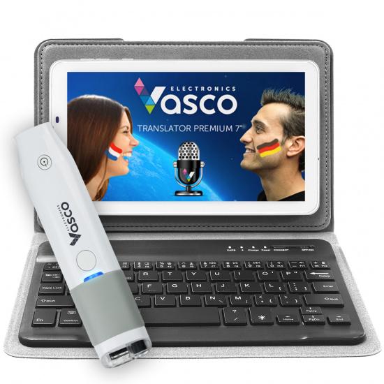 """Vasco Translator Premium 7"""" + Keyboard + Scanner"""
