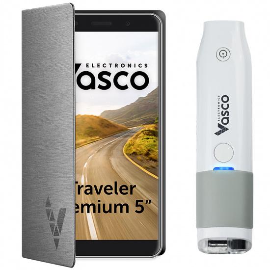 """Vasco Traveler Premium 5"""" + Scanner"""